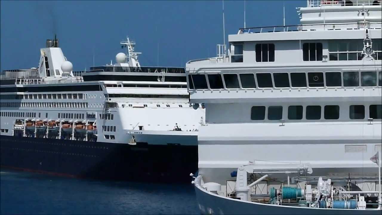 Cruise Ships In Aruba Ocean Dream Horizon Stadendam And Silver - Cruise ships in aruba