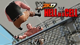 vuclip WWE 2K17 - Brock Lesnar vs Braun Strowman Hell In A Cell Match W/DAYTIME ARENA (PS4 & XBOX ONE)