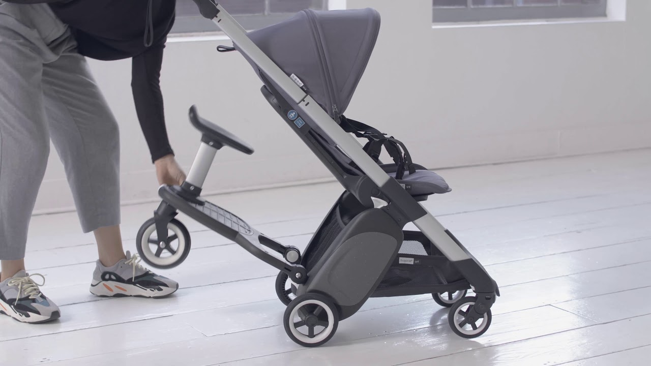 Bugaboo Ant Travel Stroller How To Attach The Comfort Wheeled Board