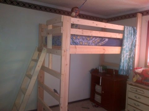 How to build a collegebedloft - DIY Build and Assembly ...