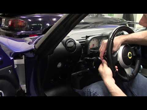 Lotus Elise Headlight Troubleshooting Part 3: Remove Gauge Cluster and Access Headlight Relay Box