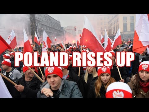 Squatting Slav TV: Mighty Poland will not bow to Islam/EU