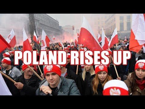 Squatting Slav TV: Mighty Poland will not bow to Islam/EU