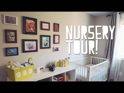 NURSERY ROOM TOUR! Baby Josephine's bedroom
