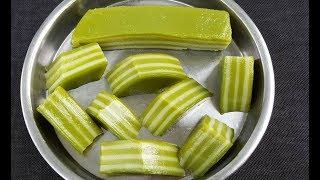 Cách làm BÁNH DA LỢN đậu xanh lá dứa thơm ngon