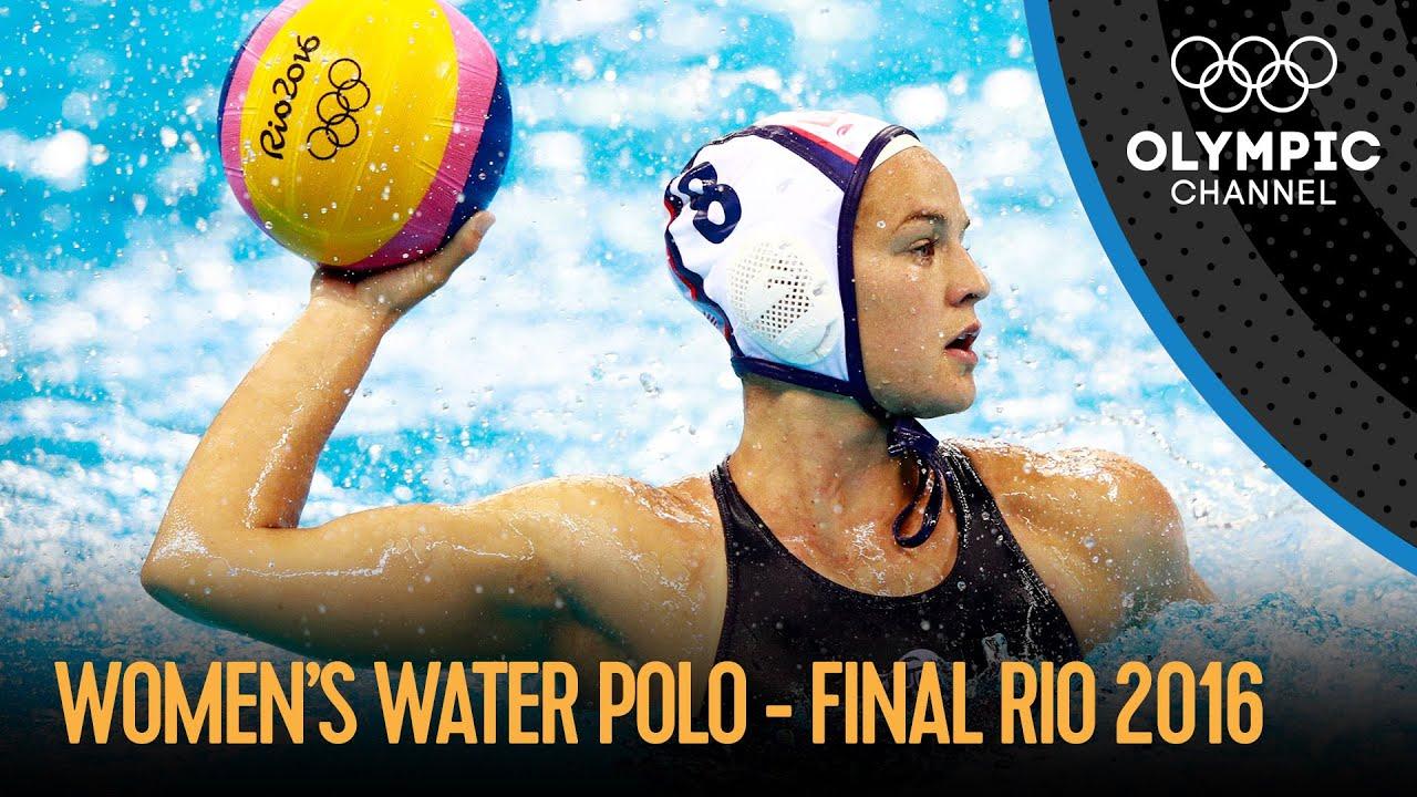 Download USA vs ITA - Women's Water Polo Final | Rio 2016 Replays