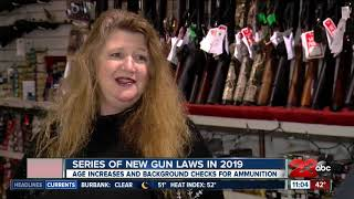 New guns laws for 2019