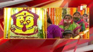 Devotees Throng To Get Darshan Of Maa Budhi Thakurani In Berhampur Amid Covid-19 Guidelines
