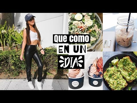 WHAT I EAT IN A DAY | FACIL Y SALUDABLE thumbnail