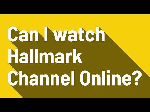 Can I Watch Hallmark Channel Online?