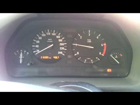 BMW 525tds. Холодный пуск двигателя. 21.