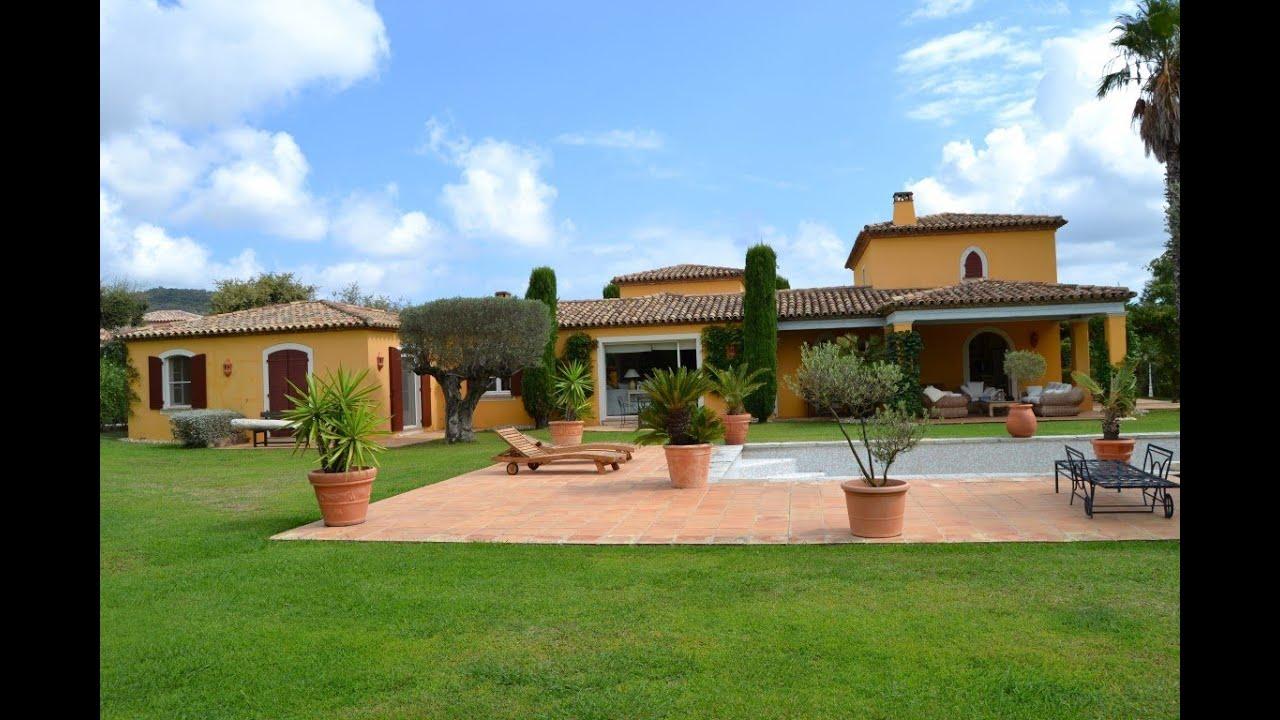 Particulier location saisonni re villa prestige proche st for Location villa cote d azur piscine