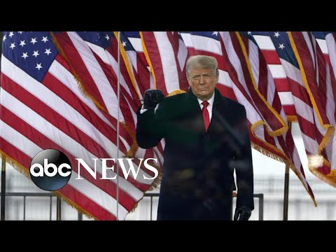 ABC News Live Update: Trump makes 1st appearance since Capitol siege