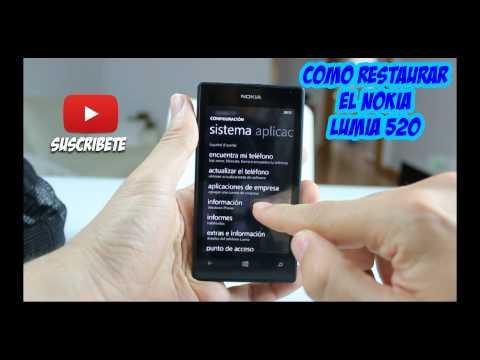 Remise a zero nokia lumia 520