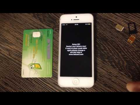 iOS 10.3 R-SIM 11 vs Heicard 7.4 D How to iPhone Activation Unlock iOS 9.3.5 - 10.3.6