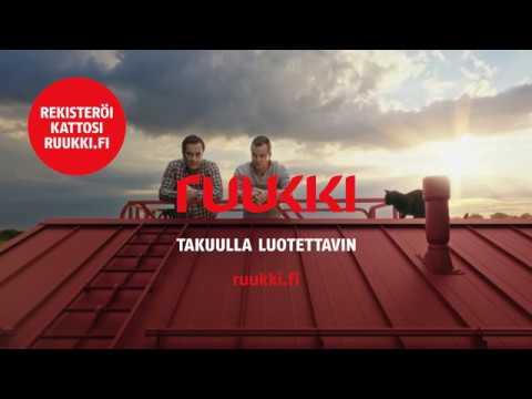 Ruukki mainos – Ruukki-katto | Ruukki.fi