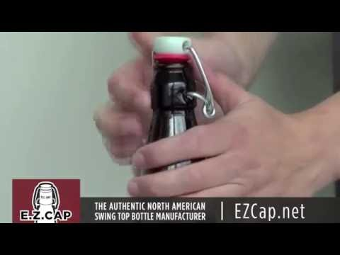 zzzE.Z.Cap - How to attach a swing top to a glass bottle