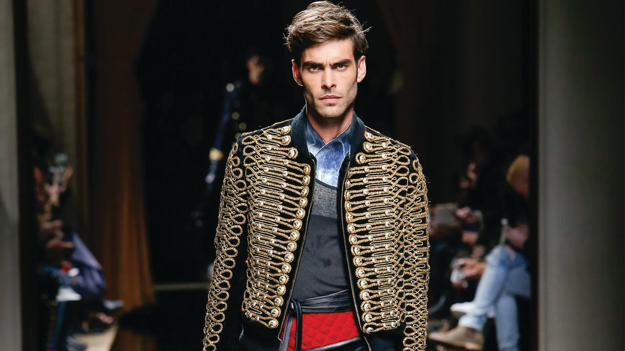 Balmain Fall/Winter 2016 Menswear Show