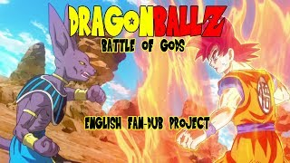 Dragon Ball Z: Battle of Gods - Funimation English Dub Update & Fan-Dub Project