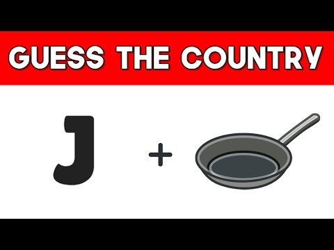 Can You Guess The Country By Emoji? | Emoji Challenge | Emoji Movie Puzzles