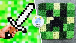 5 Fun To Make Minecraft DIYs