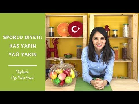 Sporcu Beslenmesi: Kas Yapan Ve Yağ Yakan Sporcu Diyeti - Diyetisyen Ayşe Tuğba Şengel