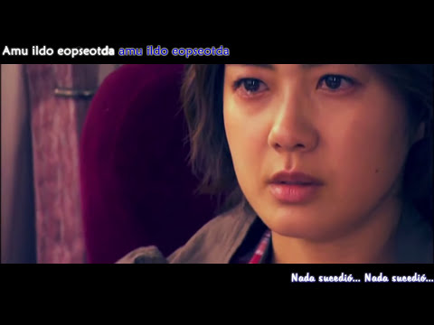 49 Days OST - There Was Nothing (Sub español - KARAOKE)