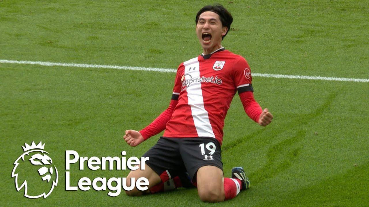 Takumi Minamino snatches Southampton lead against Chelsea | Premier League | NBC Sports