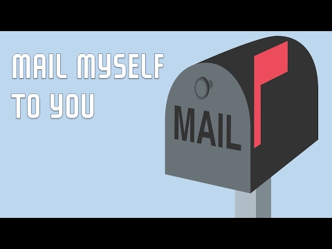 MAIL MYSELF  TO YOU - GREAT COVER OF THE CLASSIC SONG FOR KIDS TO SING ALONG!!!