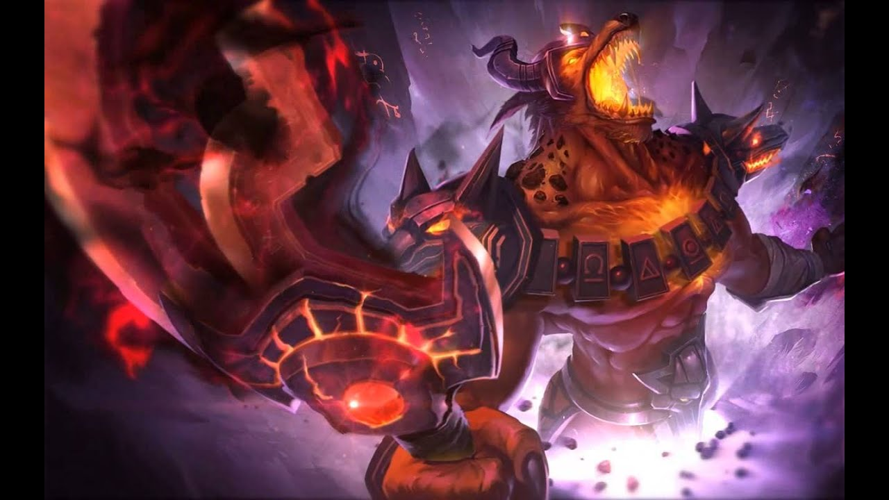 nasus infernal dreamscene hd wallpaper animated