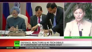 Defense, reactors & high-tech deals: Russia loves India