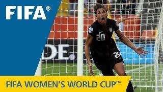 THE WINNER: Greatest Women's World Cup Goal - WAMBACH in 2011