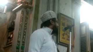 Part 2 Syed Sibtain Haider Qadri Barkaati Urs e Syedi Barkaati Minara Masjid 2013
