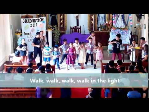 """""""Walking In The Light Of God (It's A Good Thing)"""" with Lyrics (Asis Youth Group)"""