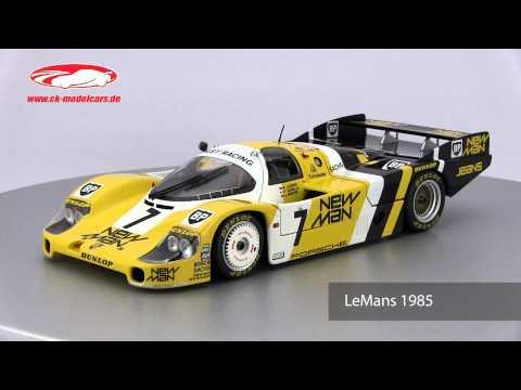 ck-modelcars-video: Porsche 956L Newman Minichamps