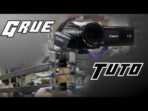 Fabrication d'une grue pour caméra / DSLR - Séance bricolage 3