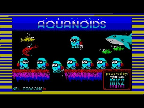 Aquanoids ZX Spectrum Game