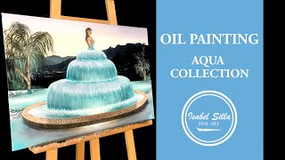 "Oil painting ""Infinity"" 
