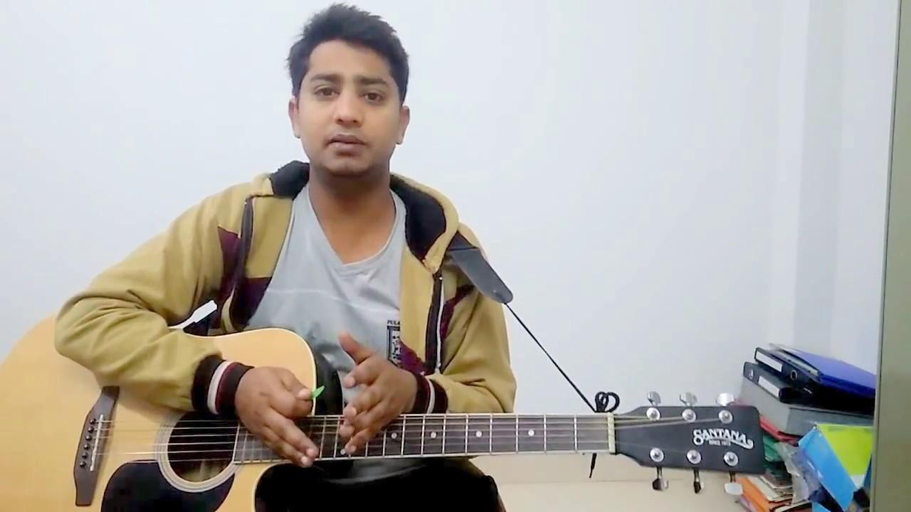 Humsafar Badrinath Ki Dulhania Guitar Lesson Easy Chords And