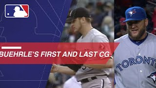 A look at Buehrle's first and last MLB complete games