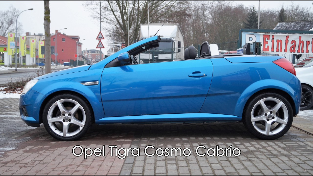 opel tigra cabrio cosmo 1 8 125 ps youtube. Black Bedroom Furniture Sets. Home Design Ideas