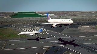 Dos aviones casi colisionan en pleno vuelo, se evita tragedia
