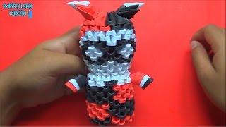 Origami 3D Mini Harley Quinn