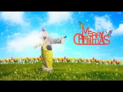 Merry christmas and Happy new year card 2013 by Dulux Dog