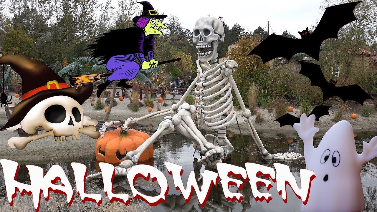 Djurs Sommerland Halloween Youtube