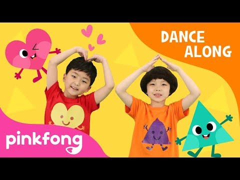 Dance with Shapes | Shape Song | Dance Along | Pinkfong Songs for Children