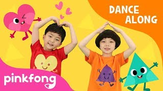 Dance with Shapes   Shape Song   Dance Along   Pinkfong Songs for Children