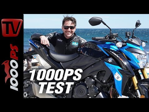 1000PS Test - Suzuki GSX-S 1000 - Fast and sexy