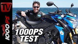 1000PS Test - Suzuki GSX-S 1000 - Fast and sexy