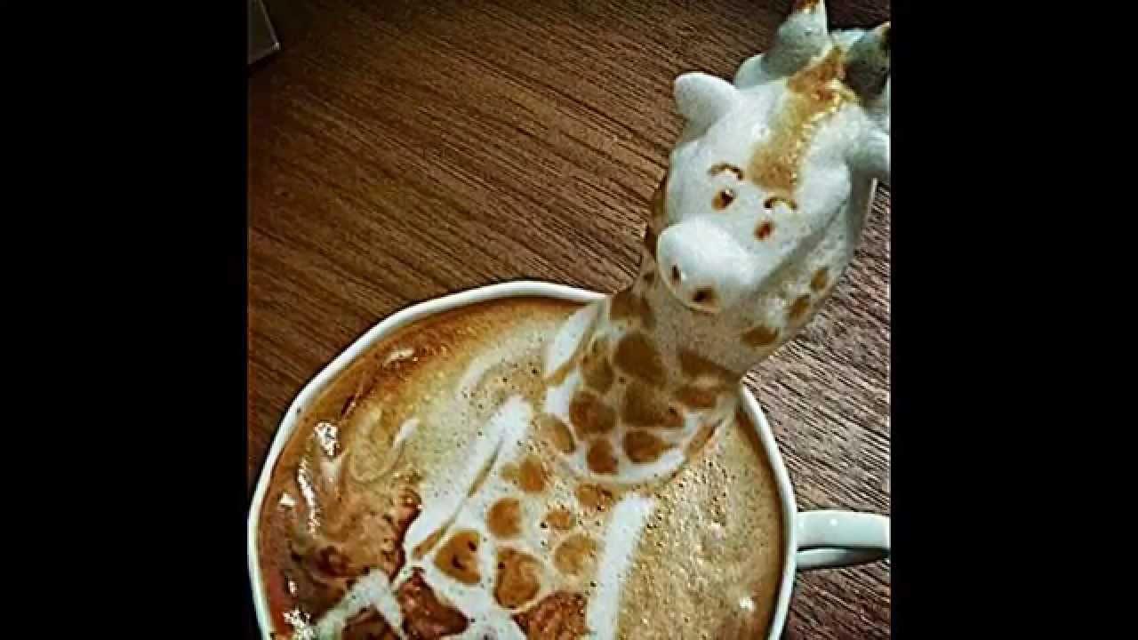 ungew hnliche 3d latte art vom japanischen k nstler kazuki. Black Bedroom Furniture Sets. Home Design Ideas